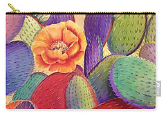 Prickly Rose Garden Carry-all Pouch