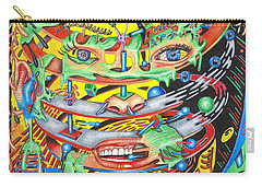 Primordial Inception Of Life At Daybreak Carry-all Pouch