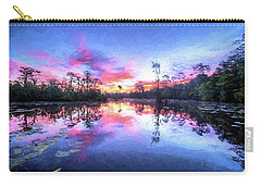 Primordial Sunrise Carry-all Pouch by JC Findley