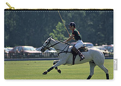 Prince Charles Playing Polo At Windsor Carry-all Pouch