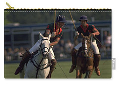 Prince Charles Playing Polo Carry-all Pouch