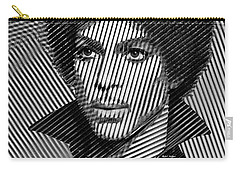 Prince - Tribute In Black And White Sketch Carry-all Pouch