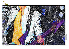 Prince - Tribute With Guitar Carry-all Pouch