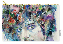 Prince - Watercolor Portrait Carry-all Pouch