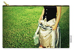 Princess Along The Grass Carry-all Pouch