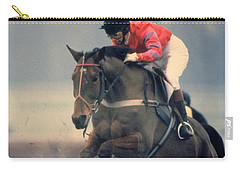 Princess Anne Riding Cnoc Na Cuille At Kempten Park Carry-all Pouch