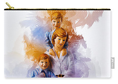 Princess Diana And Children Carry-all Pouch