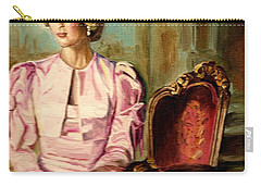 Princess Diana The Peoples Princess Carry-all Pouch by Carole Spandau