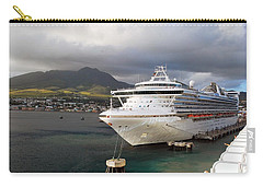 Princess Emerald Docked At Barbados Carry-all Pouch