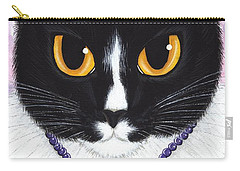 Princess Fiona -tuxedo Cat Carry-all Pouch