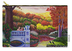 Princess Gardens Carry-all Pouch