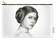 Princess Leia Watercolor Portrait Carry-all Pouch
