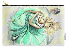 Carry-all Pouch featuring the digital art Princess Rosalina by Baroquen Krafts