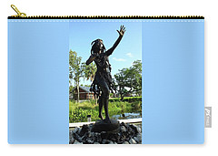 Princess Ulele Statue Carry-all Pouch by Judy Wanamaker