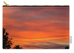 Princeton Junction Sunset Carry-all Pouch by Steven Richman