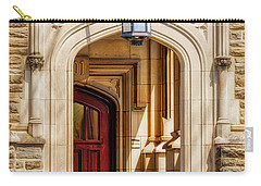 Carry-all Pouch featuring the photograph Princeton University 1901 Laughlin Hall by Susan Candelario
