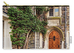 Carry-all Pouch featuring the photograph Princeton University Foulke Hall II by Susan Candelario