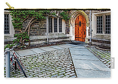 Carry-all Pouch featuring the photograph Princeton University Foulke Hall by Susan Candelario