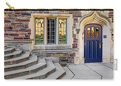 Carry-all Pouch featuring the photograph Princeton University Lockhart Hall by Susan Candelario
