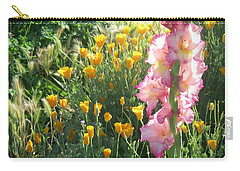 Priscilla With Poppies Carry-all Pouch