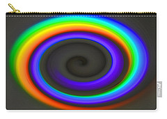 Spectrum Twirl Carry-all Pouch by Joan Hartenstein