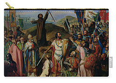 Procession Of Crusaders Around Jerusalem Carry-all Pouch by Jean Victor Schnetz
