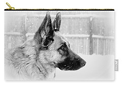 Profile Of A German Shepherd Carry-all Pouch