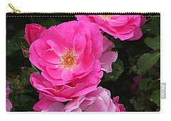 Carry-all Pouch featuring the photograph Profusion Of Pink by Doris Potter