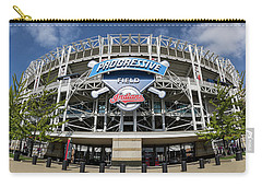 Carry-all Pouch featuring the photograph Progressive Field by Dale Kincaid
