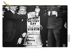 Prohibition Ends - Stroh's Brewery Celbrates - Detroit 1933 Carry-all Pouch by Daniel Hagerman