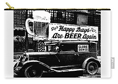 Prohibition Happy Days Are Beer Again Carry-all Pouch