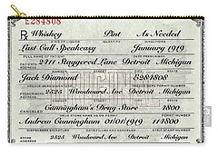Carry-all Pouch featuring the photograph Prohibition Prescription Certificate Establishments by David Patterson