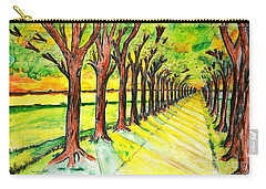 Promenada Carry-all Pouch by Ramona Matei
