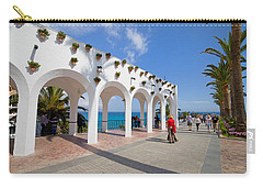 Promenade In Nerja Carry-all Pouch