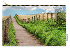Promenade In Stonehaven Carry-all Pouch by Sergey Simanovsky