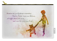 Promise Me You'll Always Remember Carry-all Pouch