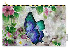 Promise Of Spring Carry-all Pouch by Maria Urso
