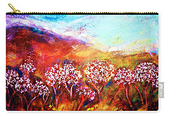 Carry-all Pouch featuring the painting Promise by Winsome Gunning