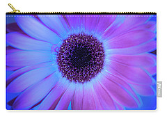 Carry-all Pouch featuring the photograph Promises Of Blue And Pink by Christi Kraft