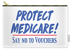 Protect Medicare Carry-all Pouch by Heidi Hermes