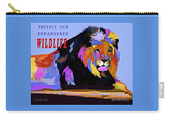 Protect Our Endangered Wildlife Carry-all Pouch