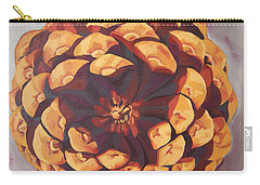 Carry-all Pouch featuring the painting Protected by Erin Fickert-Rowland