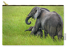Protective Elephant Mom Carry-all Pouch