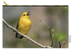 Prothonotary Warbler Singing Carry-all Pouch