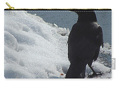 Proud Crow Carry-all Pouch