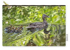 Carry-all Pouch featuring the photograph Proud Mama by Kate Brown