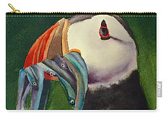 Proud Puffin Carry-all Pouch