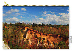 Providence Canyon Panorama Carry-all Pouch by Barbara Bowen