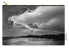 Carry-all Pouch featuring the photograph Provincetown Storm by Charles Harden