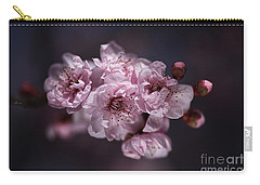 Prunus A Pink Spring Carry-all Pouch by Joy Watson